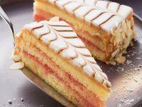 Punsch-Marzipan-Torte Rezept