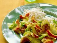 Puten-Gemüsecurry Rezept