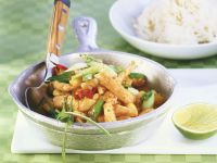 Puten-Mango-Geschnetzeltes Rezept