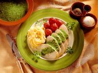 Putenbraten mit Pesto Rezept