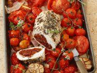 Putenbrust mit Tomaten gefüllt Rezept