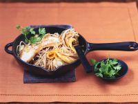 Putenschnitzel auf fruchtigen Vollkorn-Spaghetti Rezept