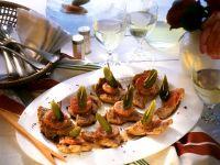 Putenschnitzel-Häppchen Rezept