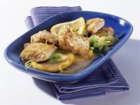 Putenschnitzel mit Zitronensauce Rezept