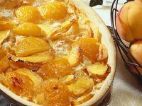 Pfirsich-Auflauf Rezept