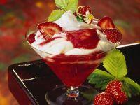 Quark mit Erdbeersauce Rezept