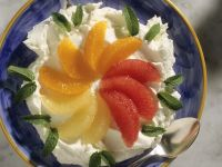 Quark mit Zitrusfruchtfilets Rezept