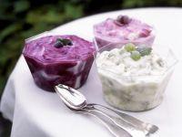 Quarkcreme mit verschiedenen Früchten Rezept