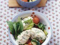 Quarkklößchen mit Gemüse Rezept