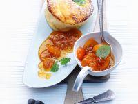 Quarksoufflé mit Kumquats Rezept