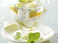 Quarkspeise mit Früchten Rezept