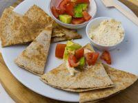 Quesadilla mit Salsa Rezept