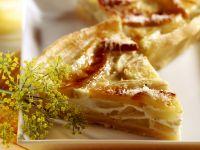 Quiche mit Fenchel, Apfel und Parmesan Rezept