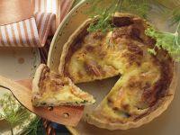 Quiche mit Shrimps und Mangold Rezept