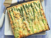 Quiche mit Spargel und Ricotta Rezept