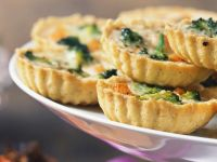Quiches mit Broccoli Rezept