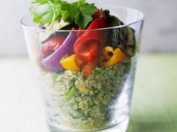 Quinoa-Paprika-Salat Rezept