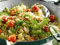 Quinoa-Sellerie-Pfanne Rezept