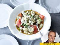 Klassisch italienisch: Basilikum-Gnocchi mit Tomaten