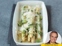Saisongenuss: Spargelsalat mit dicken Bohnen