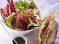 Radicchio mit Apfel und gepökeltem Rindfleisch nach Schweizer Art Rezept