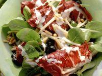 Radicchio mit Käse und Trauben Rezept