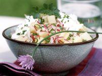 Radieschen-Kartoffel-Salat mit Topfen Rezept