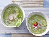 Radieschen-Kartoffel-Suppe Rezept