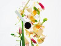 Radieschensalat mit Räucherfisch Rezept