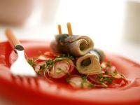 Radieschensalat mit Rollmops Rezept
