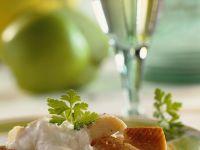 Räucherforelle mit cremiger Sauce Rezept