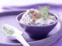 Räucherlachs-Käse-Creme Rezept