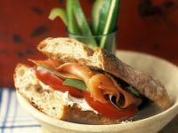 Räucherlachs-Sandwich Rezept
