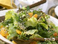 Raukesalat mit Batavia und Orangen Rezept