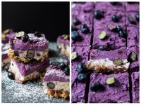 Raw Blueberry Cheesecake selber machen