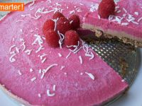 Raw Cake mit Himbeeren Rezept