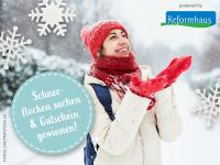 Die Reformhaus® Schneeflockensuche: Mitmachen und tolle Preise gewinnen!