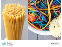DIY! Kunterbunte Regenbogen-Pasta