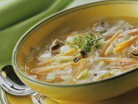 Reis-Gemüse-Suppe Rezept