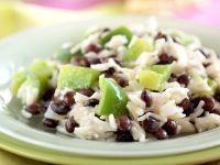 Reis mit Bohnen und Paprika Rezept