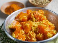 Reis mit Curry-Kürbis Rezept