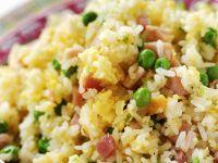 Reis mit Erbsen Rezept