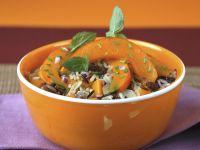 Reis mit Kürbis Rezept