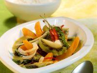 Reis mit Mangold-Kürbis-Ragout Rezept