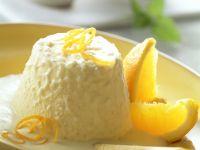 Reis-Parfait mit Orangensoße Rezept