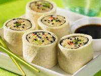 Reis-Röllchen