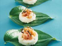 Reishäppchen mit Krabben Rezept
