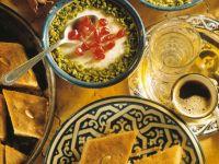 Reismehl-Mandel-Pudding Rezept