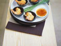 Reisnudel-Garnelen mit Asia-Dip Rezept