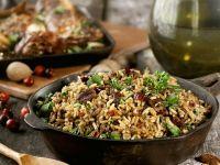 Reispfanne mit Cranberries und Pekannüssen Rezept